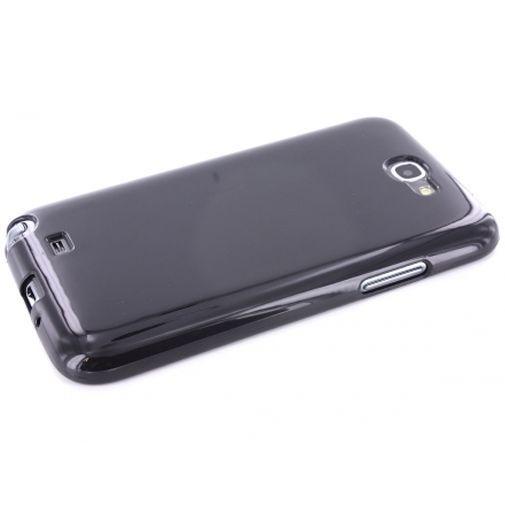 Productafbeelding van de Mobiparts TPU Case Samsung Galaxy Note II Black