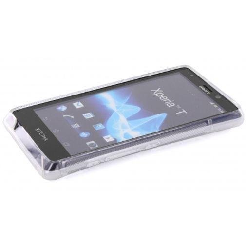 Productafbeelding van de Mobiparts TPU Case Sony Xperia T-Shape White