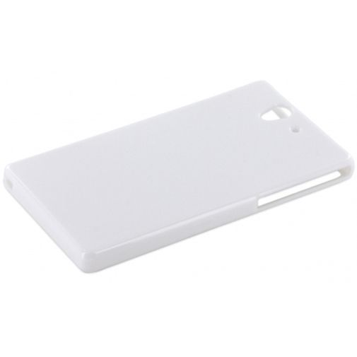 Productafbeelding van de Mobiparts TPU Case Sony Xperia Z White