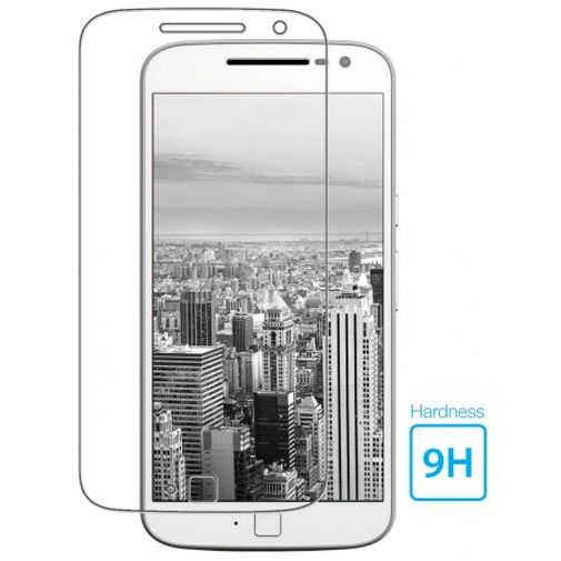 Productafbeelding van de Mobiparts Tempered Glass Screenprotector Motorola Moto G4 Plus
