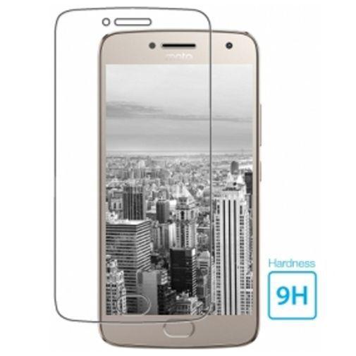Productafbeelding van de Mobiparts Tempered Glass Screenprotector Motorola Moto G5 Plus