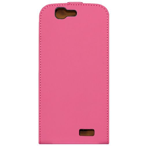 Productafbeelding van de Mobilize Ultra Slim Flip Case Fuchsia Huawei Ascend G7