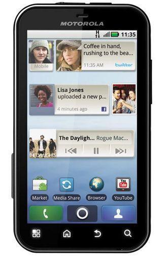 Productafbeelding van de Motorola Defy Black