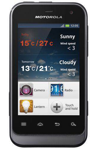 Productafbeelding van de Motorola Defy Mini Black
