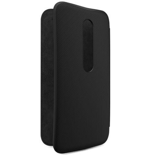 Productafbeelding van de Motorola Flip Shell Black Moto G (3rd Gen)