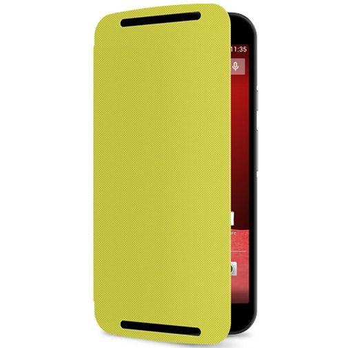 Productafbeelding van de Motorola Flip Shell Lime New Moto G