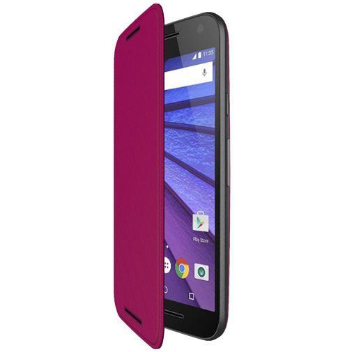 Productafbeelding van de Motorola Flip Shell Raspberry Moto G (3rd Gen)