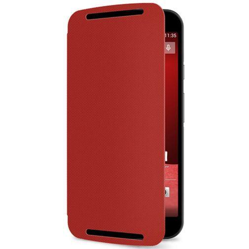 Productafbeelding van de Motorola Flip Shell Red New Moto G