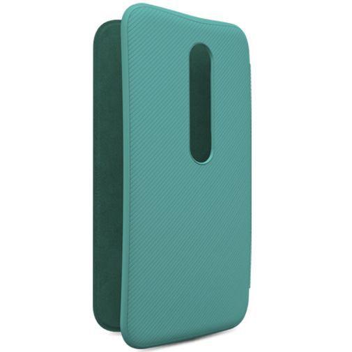 Productafbeelding van de Motorola Flip Shell Turquoise Moto G (3rd Gen)