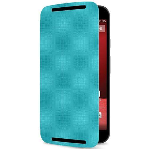 Productafbeelding van de Motorola Flip Shell Turquoise New Moto G