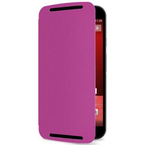 Productafbeelding van de Motorola Flip Shell Violet New Moto G