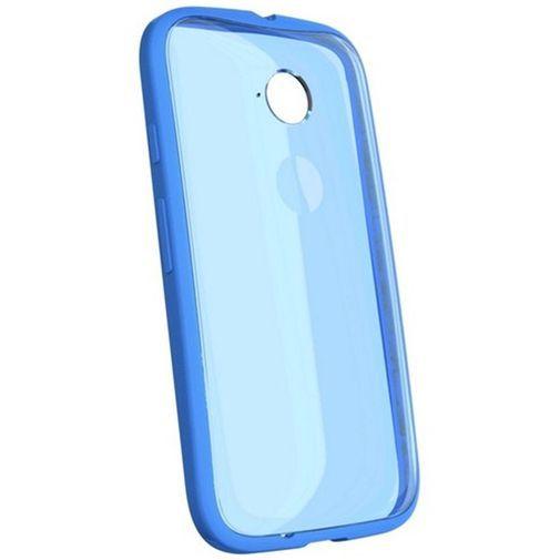 Productafbeelding van de Motorola Grip Shell Blue New Moto E