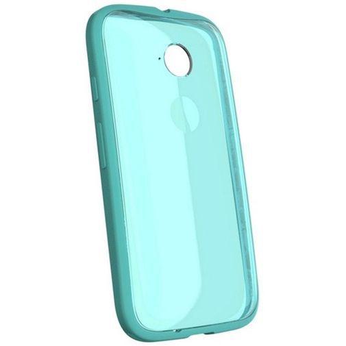 Productafbeelding van de Motorola Grip Shell Turquoise New Moto E
