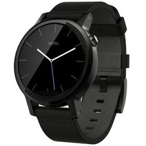 Productafbeelding van de Motorola Moto 360 (2nd Gen) Leather Dali Black