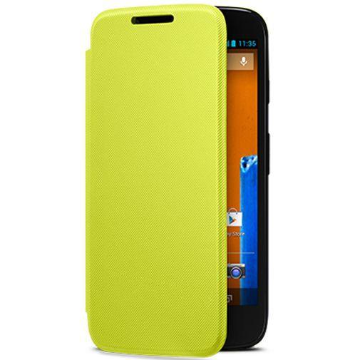 Productafbeelding van de Motorola Moto G Flip Cover Lemon