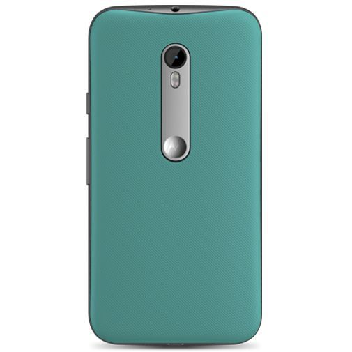 Productafbeelding van de Motorola Shell Turquoise Moto G (3rd Gen)