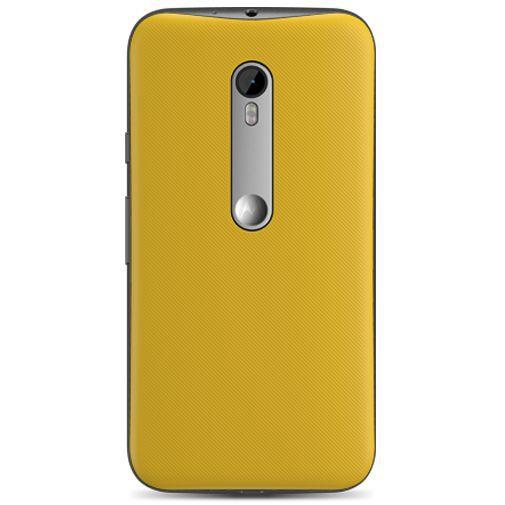 Productafbeelding van de Motorola Shell Yellow Moto G (3rd Gen)