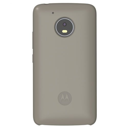 Motorola Silicone Back Cover Grey Moto G5