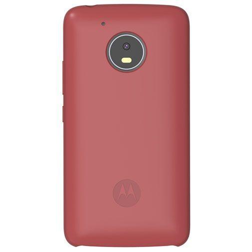 Productafbeelding van de Motorola Silicone Back Cover Red Moto G5