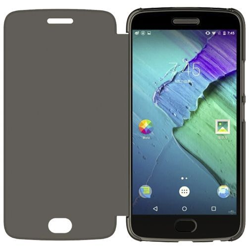 Productafbeelding van de Motorola Touch Flip Cover Grey Moto G5 Plus