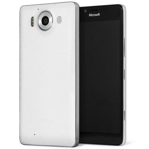 Productafbeelding van de Mozo Back Cover White Microsoft Lumia 950