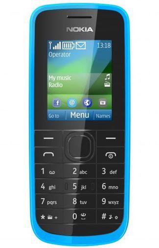 Productafbeelding van de Nokia 109 Cyan