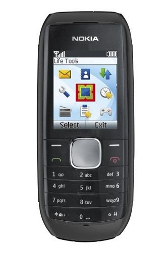 Productafbeelding van de Nokia 1800 Black