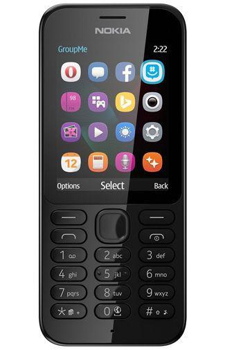 Productafbeelding van de Nokia 222 Black