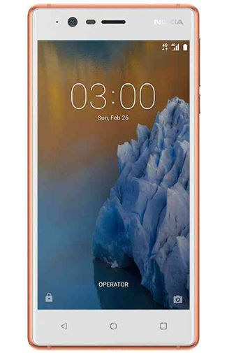 Productafbeelding van de Nokia 3 Copper White