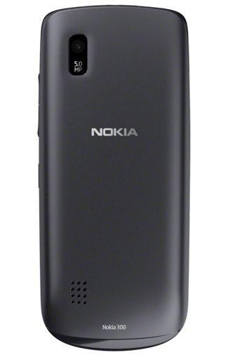 Productafbeelding van de Nokia Asha 300 Graphite