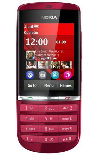 Productafbeelding van de Nokia Asha 300 Red