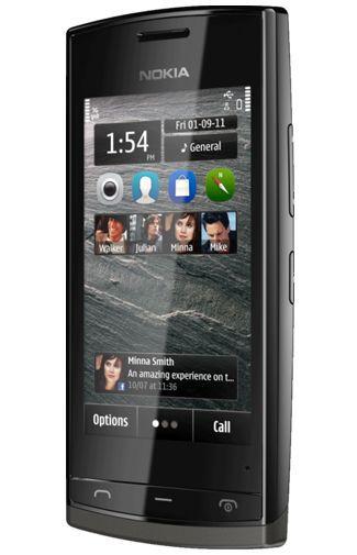 Productafbeelding van de Nokia 500 Black