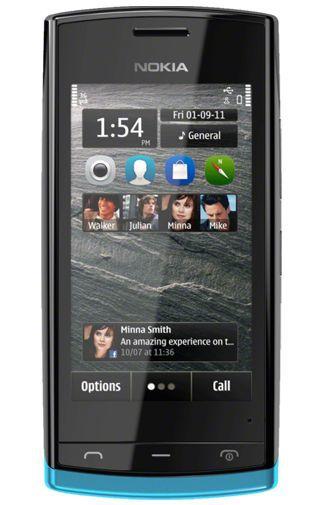 Productafbeelding van de Nokia 500 Blue