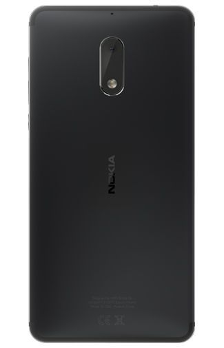 Productafbeelding van de Nokia 6 Dual Sim Black