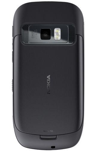 Productafbeelding van de Nokia 701 Steel Dark