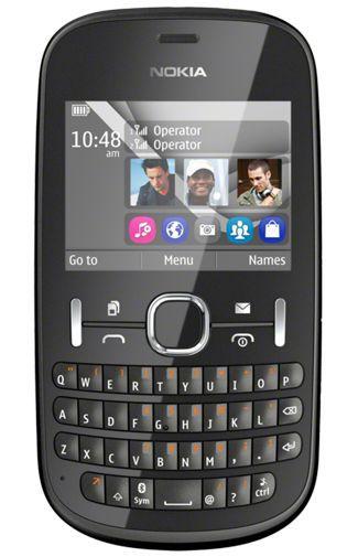 Productafbeelding van de Nokia Asha 200 Black
