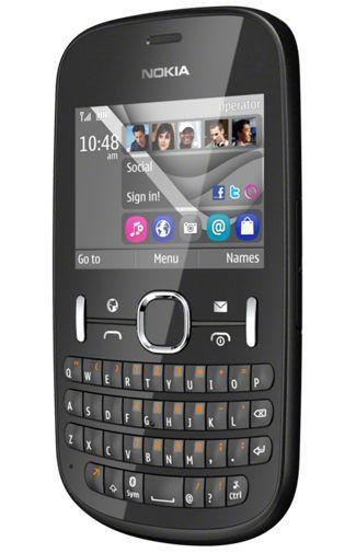 Productafbeelding van de Nokia Asha 201 Black