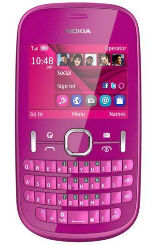 Productafbeelding van de Nokia Asha 201 Pink