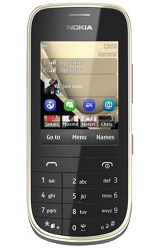 Productafbeelding van de Nokia Asha 202 Black