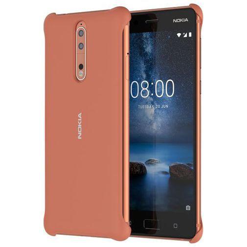 Productafbeelding van de Nokia Soft Back Case Copper Nokia 8
