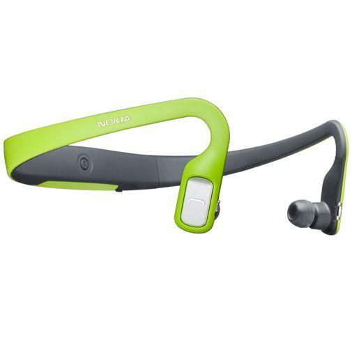 Productafbeelding van de Nokia Bluetooth Stereo Headset BH-505 Green