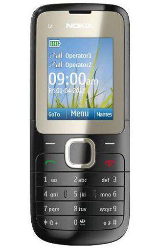 Productafbeelding van de Nokia C2-00 Black