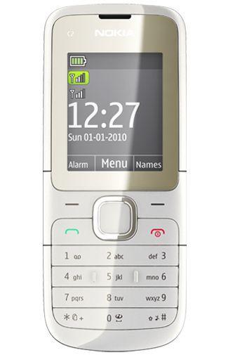 Productafbeelding van de Nokia C2-00 White