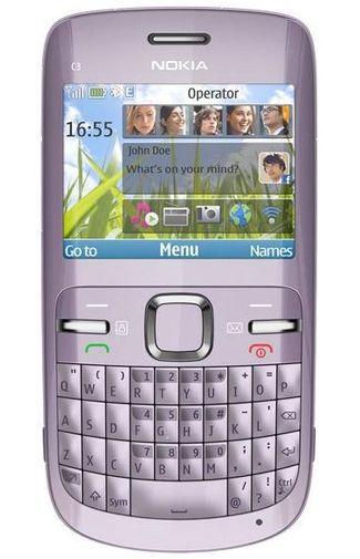 Productafbeelding van de Nokia C3-00 Acacia Silver