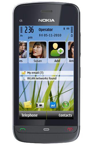 Productafbeelding van de Nokia C5-03 Black