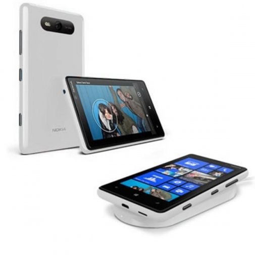 Productafbeelding van de Nokia CC-3041 Wireless Charging Shell Nokia Lumia 820 White