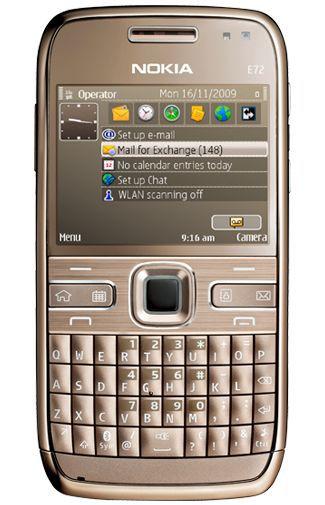 Productafbeelding van de Nokia E72 Topaz Brown