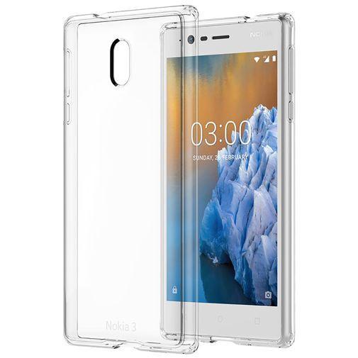 Productafbeelding van de Nokia Hybrid Case Transparent Nokia 3