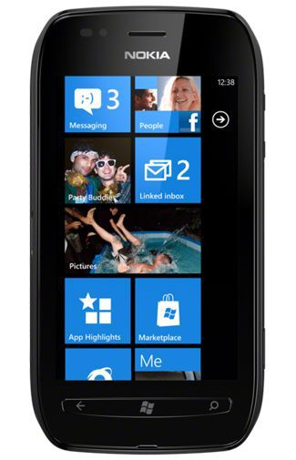 Productafbeelding van de Nokia Lumia 710 Black