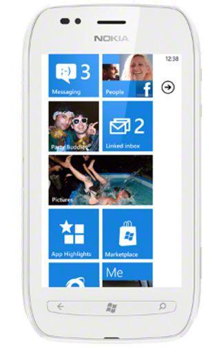 Productafbeelding van de Nokia Lumia 710 White